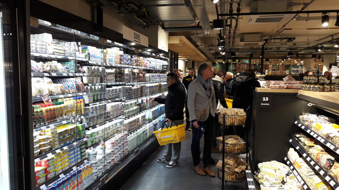 De Jumbo City in de Visstraat is geopend