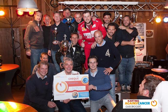 De eerste editie van Karten voor Cancert leverde in Oldenzaal een mooi bedrag voor het goede doel op.