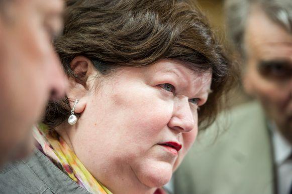 Minister van Volksgezondheid Maggie De Block (Open Vld).