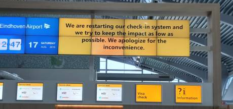 Weer storing bagagesysteem Eindhoven Airport
