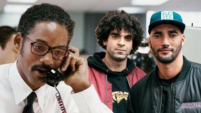 Adil en Bilall kregen telefoon van Will Smith