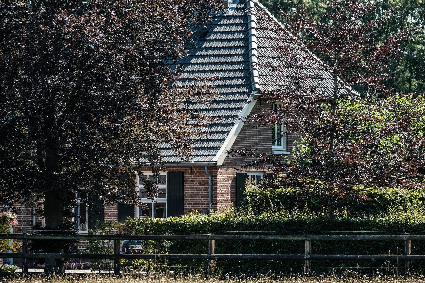 De woonboerderij van de Meilandjes in Hengelo.