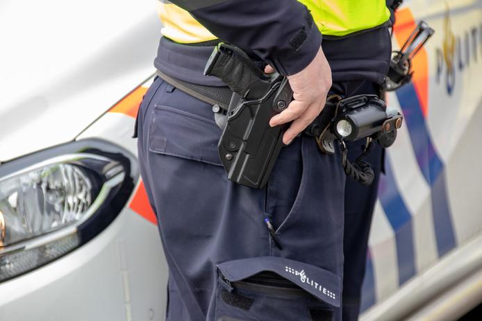 De politie controleerde op verschillende plekken.