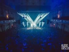 Technofeest in Concertgebouw laat plafond naar beneden komen