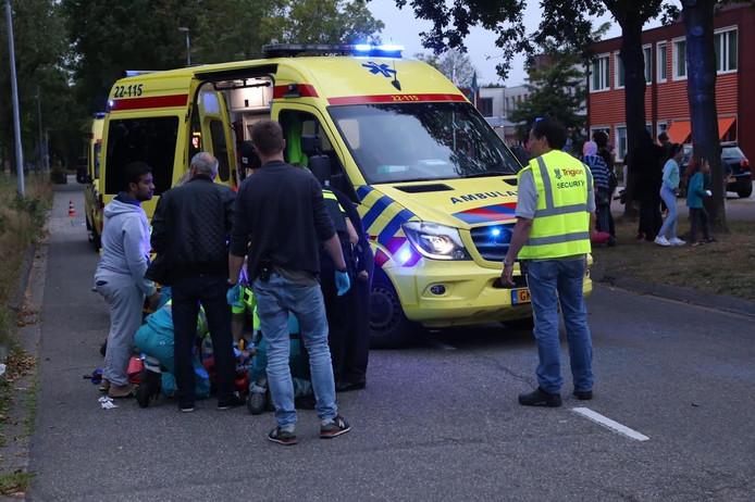 Op de Castilielaan in Eindhoven is een kind aangereden door een busje