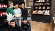 Leerlingen openen koffiehuisje Coffee Break