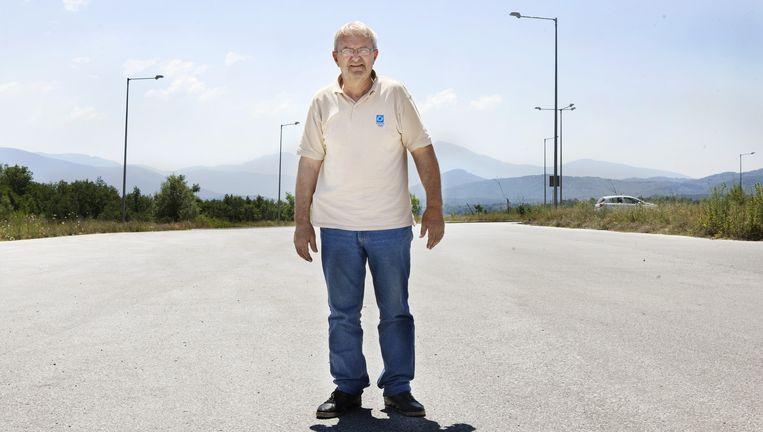 Kelidis Vasilios, economisch vluchteling: `In Griekenland is geen geld meer.' Beeld Io Cooman