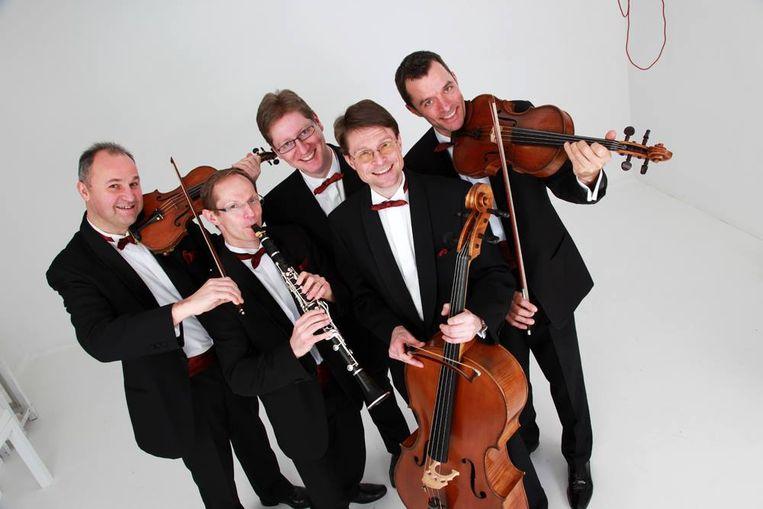 Het muziekgezelschap Grupetto.