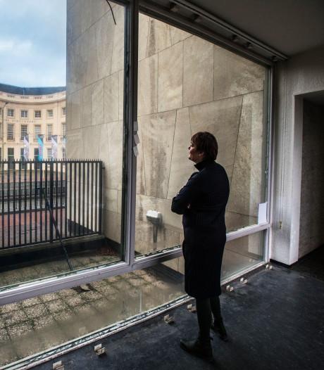 Amerikaanse ambassade opent deuren: Kunst in betonnen kolos