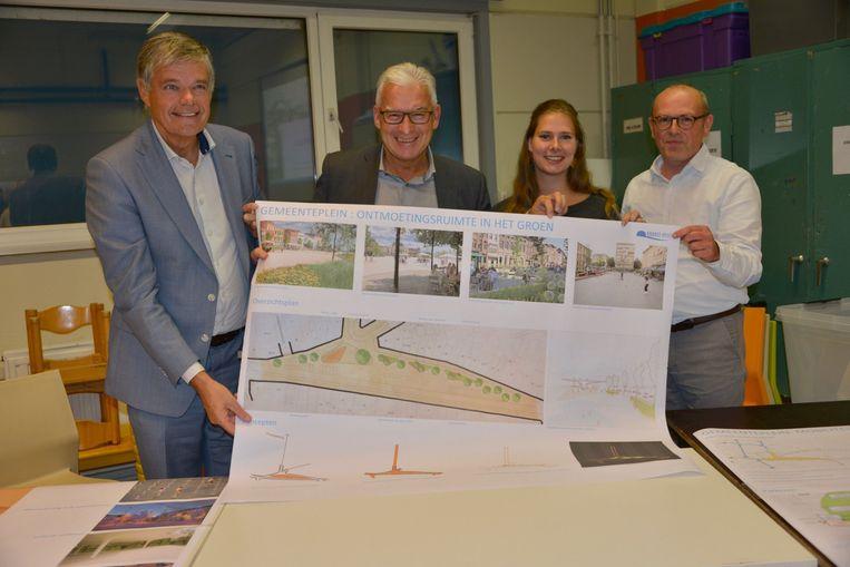 Gemeenteplein Knokke-Heist voorgesteld