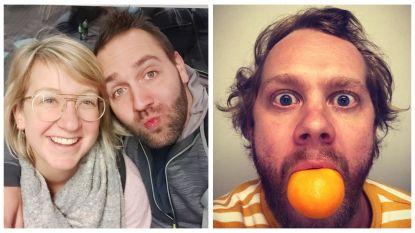 SHOWBITS. Line en Victor vertrekken op huwelijksreis, en Rik Verheye eet een mandarijn