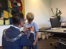 Ambassadeur Han de Groot (6) uit Lieshout houdt niet van rommel