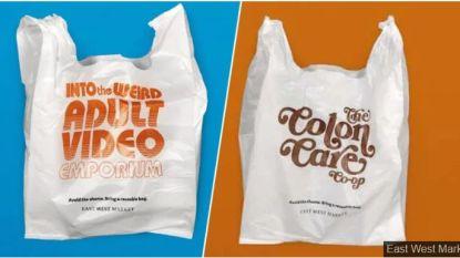 Supermarkt geeft gênante plastic zakken aan klanten die herbruikbare tas vergaten