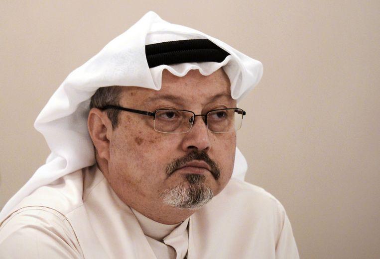 Jamal Khashoggi, hier in 2014. Beeld AFP