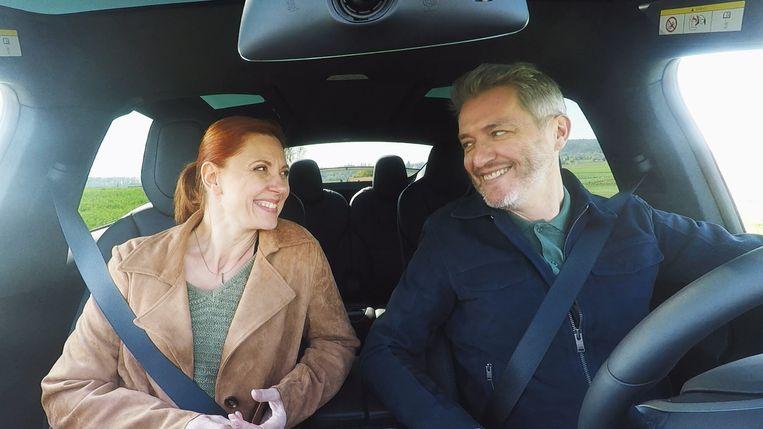 Hoe we Veronique en Lars beter kennen: gespeeld door Sandrine André en Kürt Rogiers.