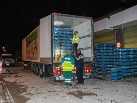 Vier verstekelingen in koelwagen Rotterdam-Zuid: chauffeur uit Spanje aangehouden