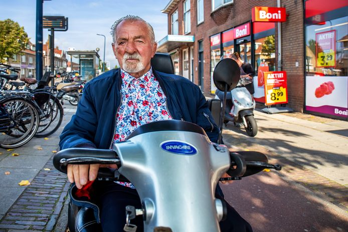 De 86-jarige Anton Slotboom werd verdacht van winkeldiefstal