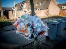Vaste ophaaldagen van vuil in Waddinxveen massaal genegeerd