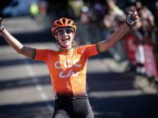 Vos schrijft ook tweede etappe in de Ardèche op haar naam
