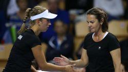 """Fed Cupkapiteins over sleutelduel: """"Spectaculair tennis verzekerd"""""""
