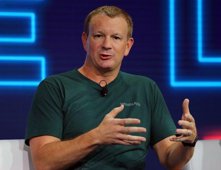 WhatsApp-oprichter Brian Acton is fel tegen advertenties op de chatdienst.