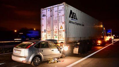File op E17 na ongeval net over de Frans-Belgische grens in Rekkem