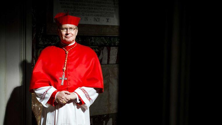 Kardinaal Wim Eijk. Beeld ANP