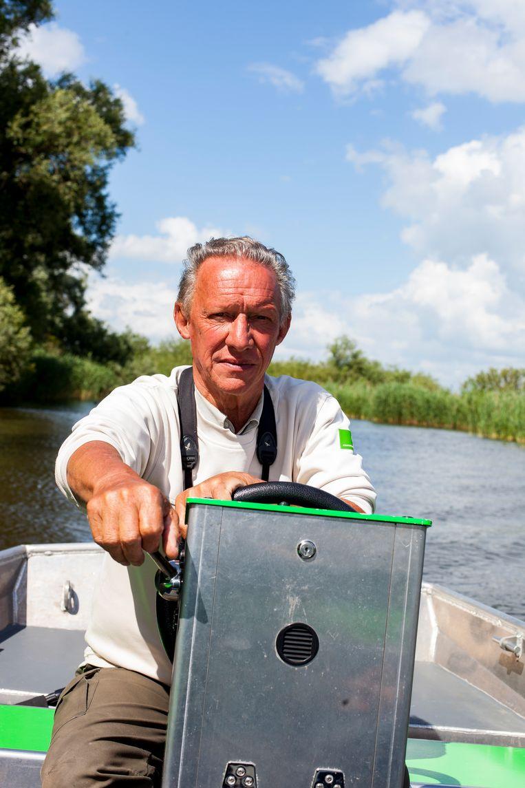 Boswachter Jacques van der Neut. Beeld Renate Beense