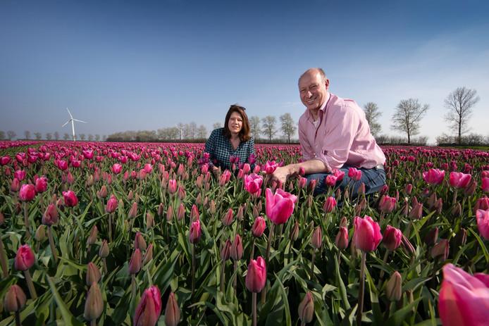Herman Vermeer en Ellen Boonen, enkele weken geleden.