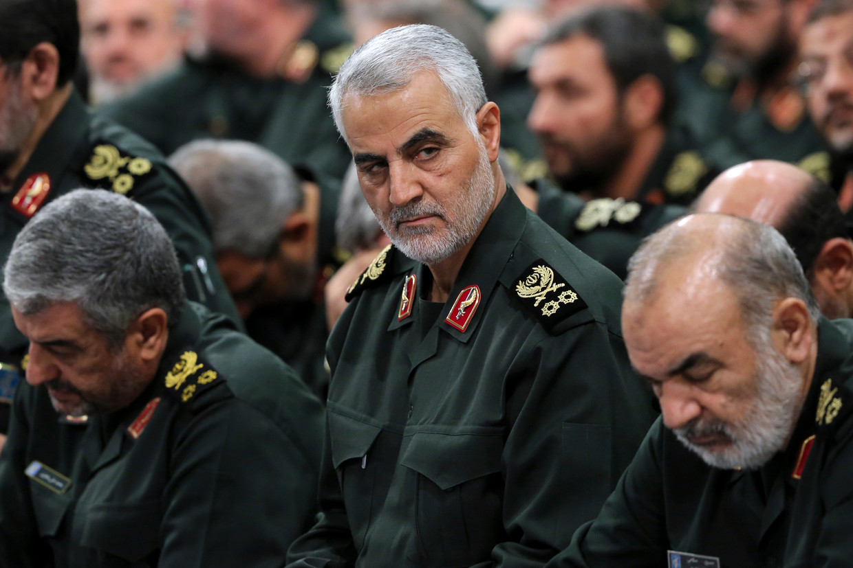 Qassem Soleimani in 2016.