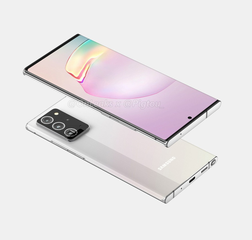 Beelden van de mogelijke Samsung Galaxy Note 20+.