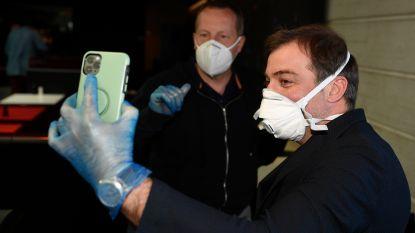 Bayat en co delen met 'Souliers du Coeur' mondmaskers en handschoenen uit in Luik