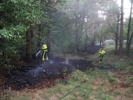 VIDEO: Meerdere branden op Loonse en Drunense duinen; vuurhaarden lijken onder controle