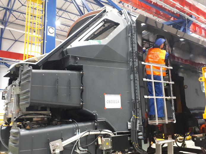 In Polen wordt bij treinenbouwer Alstom de nieuwe trein gebouwd die straks op de HSL wordt ingezet. De NS bestelde er 79 en recent nog eens 18.