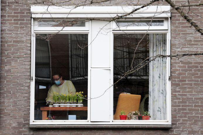De Leeuwenhoek in Rotterdam is een van de verpleeghuizen die zwaar zijn getroffen door het coronavirus.