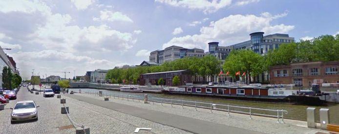 Le canal de Bruxelles