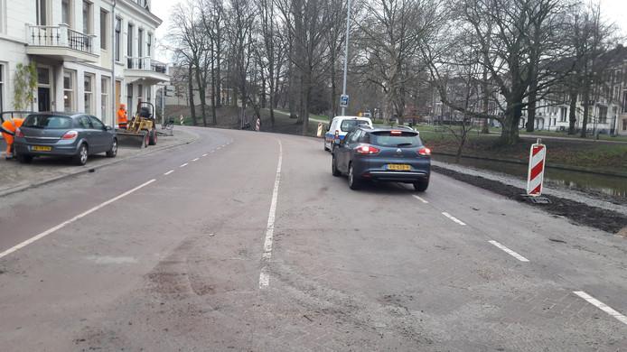 De Wittevrouwensingel tussen de Kruisstraat en de Biltstraat is weer open.