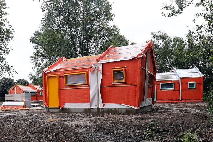 De eerste 6 Skaeve Huse in Eindhoven