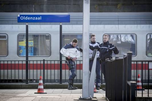 Bommelding in de internationale trein nabij Oldenzaal