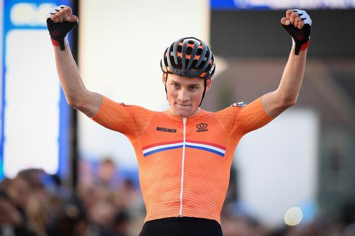 Mathieu van der Poel veroverde vorig jaar in Rosmalen de Europese titel.