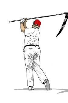 Trump-tekening van Mark Dolk uit Nieuwkoop gaat viraal: 'Ik krijg veel reacties van Amerikanen'
