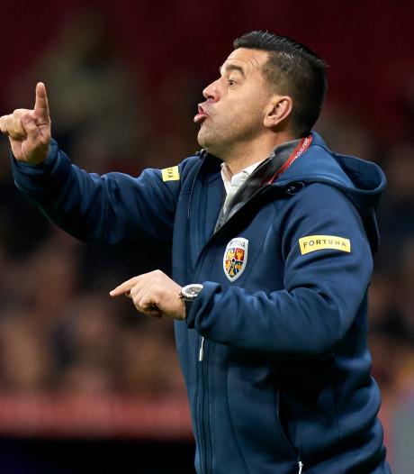 Roemeense bondscoach Contra stapt op