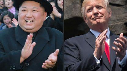 """Kim speelt spelletje en Trump trapt erin"""
