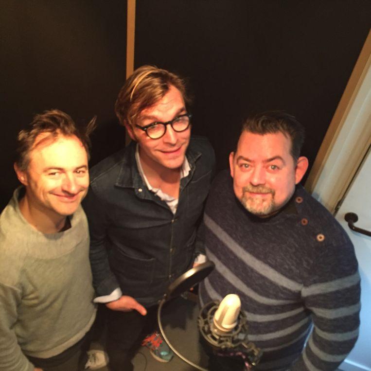 Ook Dimitri Leue en Jeron Dewolf werken mee aan de podcast.