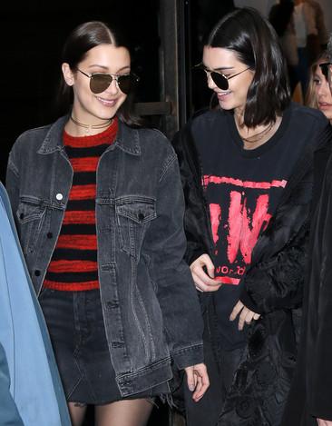 Foto van Kendall en Gigi domineren de catwalks in NY