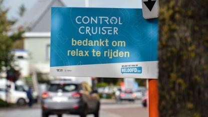 Bewoners bedanken voorbeeldige chauffeurs met Control Cruiser-borden
