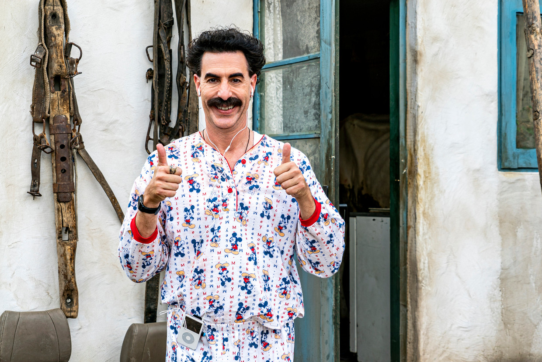 Borat. Beeld RV