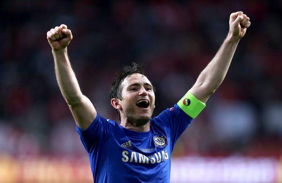 Lampard in zijn tijd bij Chelsea.