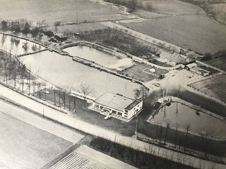 Het domein waar Millennium gelegen rond 1960.