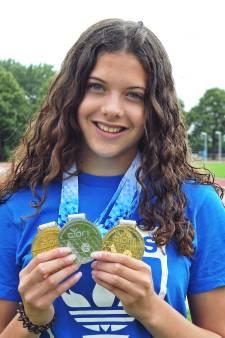 Succes voor Zoetermeerse Sedney (18) op EK in Zweden: 'Met zilver huiswaarts keren is gewoon top'